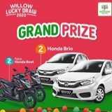 Menangkan 2 Honda Brio dari Willow Baby Shop