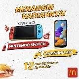 Menangkan Hadiah 1 Nintendo Switch, 3 Samsung A21, Dan Hadiah Lainnya