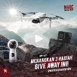 Menangkan Hadiah GoPro Hero 8, DJI Mavic Mini Drone, Dan Hadiah Lainnya