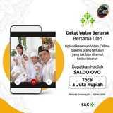 Menangkan Salso OVO Rp500.000 dari Cleo Pure Water