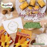 Menangkan Uang Tunai 1 Juta Rupiah + Paket Produk Egafood