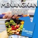 Menangkan Voucher Belanja Rp 5.000.000
