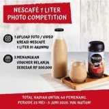 Menangkan Voucher belanja Rp500.000 dari Nescafe