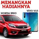 Menangkan hadiah Mobil Honda Brio dan Smartphone Vivo V15