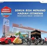 Menangkan hadiah Mobil Porsche, Motor BMW, Motor Ducati Monster, Motor Triumph