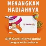 Menangkan hadiah Sim Card Kuota Besar untuk Singapura, Malaysia, dan Thailand