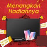 Menangkan hadiah TV, Smartphone, Voucher Belanja