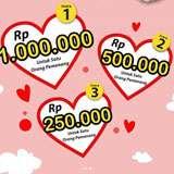 Menangkan hadiah Uang Tunai Jutaan Rupiah