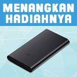 Menangkan hadiah Xiaomi MI Power Bank Ver-2 10000mAh